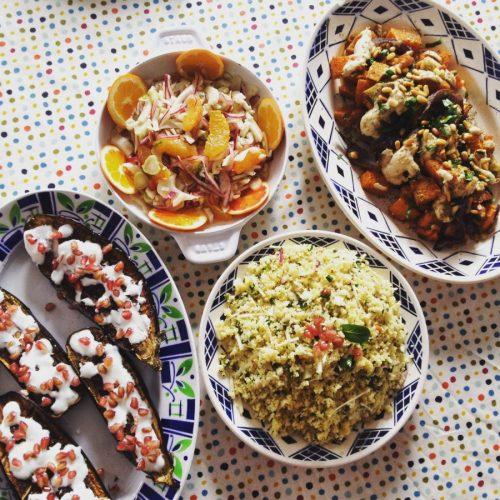 Cuisine libanaise un cours de cuisine directement chez - Cours cuisine a domicile ...