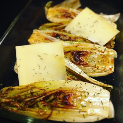 recette endives caramélisées gruyère cours de cuisine chez mémé ©jeenheine