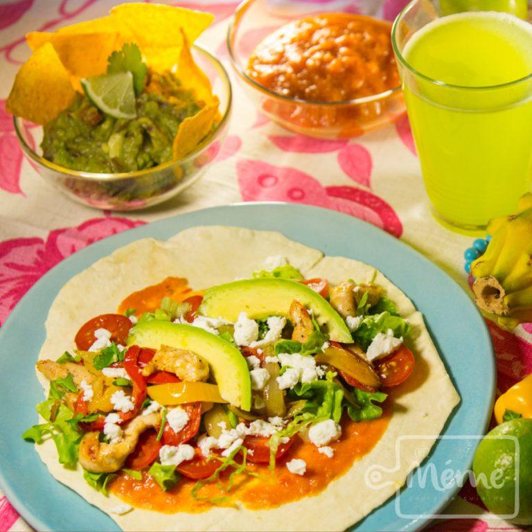 cuisine mexicaine wraps maison tortillas burritos cours de cuisine alsace chez mémé colmar ©julienkauffmann