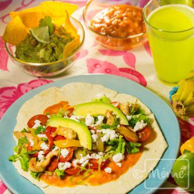 Vegan v g tarienne cours de cuisine en alsace pour manger plus sain - Cuisine mexicaine fajitas ...
