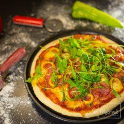 Pizza Party entre amis cours de cuisine a domicile en alsace chez mémé