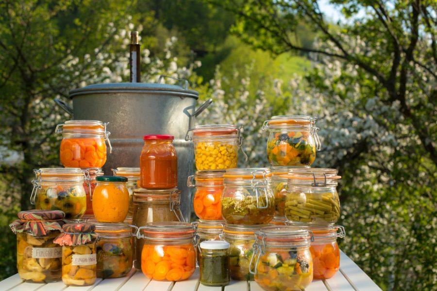 Chezmeme cours cuisine conserves bocaux sterilisationx2 chez m m - Sterilisation plats cuisines bocaux ...